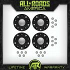 5x5 Hub Centric 4 Set 2 Billet Wheel Spacers Blk 2007 2018 Jeep Wrangler JK