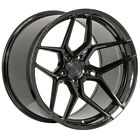 20 ROHANA RFX11 BLACK FORGED CONCAVE WHEELS RIMS FITS LAMBORGHINI GALLARDO