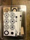 Stampin Up Mounted Rubber Stamps Two Step Stampin Riveting Set of 8 Stamps