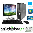 Best Value Dell Optiplex Desktop Windows 7 10 Pro Core 2 23 30 GHzSSDDVD