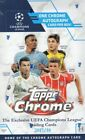 2017 18 Topps UEFA Champions League Chrome Soccer SEALED Hobby Box Free S