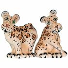 Westland Giftware Ark Safari Leopards Salt and Pepper Shaker Set 3 Inch