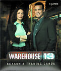 Rittenhouse Archives WAREHOUSE 13 Season 3 PREMIUM PACK Trading Cards AUTO Card