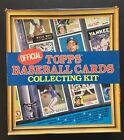 TOPPS 1986 OFFICIAL BASEBALL CARDS COLLECTING KIT IN ORIGINAL BOX