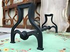 Industrial Coffee Table Bench Base Trestle Cast Iron Antique Vintage Hardware