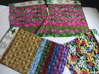 Hoffman Quilting Fabric Samples Lot Cotton Quilting 20 Squares Pieces