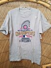 CHICAGO CUBS WORLD SERIES CHAMPIONS 2016 T-SHIRT women Large NEW $28