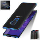 For Samsung Mobiles Luxury Crystal Electroplate TPU Soft Back Case Skin Cover