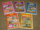SUPER Lot / Collection of 5 Veggie Tales DVDs containing 15 shows in all
