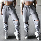 US Womens Casual High Waist Lace Up Jogger Dance Sport Pants Sweatpants Trousers