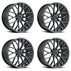 20 SAVINI SV F2 FORGED GRAPHITE CONCAVE WHEELS RIMS FITS LEXUS IS250 IS350