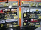 MATCHBOX PREMIERE COLLECTION RIGS COE VAN TRAILER FORD LOT OF 4 TRUCKS LE