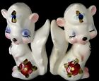 Adorable Magnetic Squirrels Salt  Pepper Shakers Everything Must Go