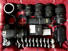 Full Kit Canon EOS Rebel T4i EOS 650D 180MP Digital SLR Camera With Extras