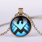 Women Fashion Jewelry Charm Round Cabochon photo Pendanr Vintage chain Necklace