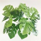 Fake Turtle Leaves Potted Plant Grass Home Decor Artificial Garden Autumn Green