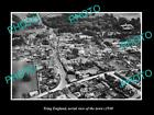 OLD LARGE HISTORIC PHOTO OF TRING ENGLAND, AERIAL VIEW OF THE TOWN c1930 3