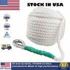 1 2 x200 Twisted Three Strand Nylon Anchor Rope Boat 5850LBS Sailboat Dockline