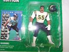 STARTING LINEUP Junior Seau 1996 edition with NFL Football Card