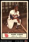1955 Johnston Cookies #44 Hank Aaron Braves VG