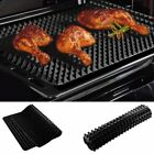1PC BBQ Mat Silicone Microwave Oven Baking Pad Sheet Fat Reducing Cooking LP