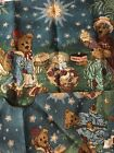 BOYDS BEAR HOLIDAY PAGEANT TAPESTRY LOT TREE SKIRT STOCKING BELLPULL WALL HANGIN