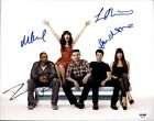 The New Girl cast authentic signed 10x15 photo W PSA Certificate 2616P1
