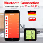 Funk Bluetooth Bratenthermometer Grillthermometer BBQ Fleisch-Thermometer fo APP
