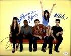 The New Girl cast authentic signed 10x15 photo W PSA Certificate 2616P3