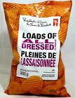 Canadian Presidents Choice Loads of All Dressed Flavour Chips 3 Large Bags