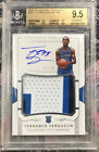 2017-18 NATIONAL TREASURES TERRANCE FERGUSON ROOKIE RPA PATCH auto 92 99 BGS 9.5