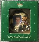 Boyds Bear Collection #25311 Soccer Player Picture Frame Sport Ornament BX32