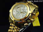 Invicta Men's 52mm Bolt Zeus Chronograph 18K Gold Plated Stainless Steel Watch