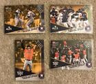 2017 TOPPS NOW Houston Astros ALDS ALCS World Series 4-Card Bonus Set