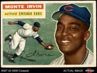 Top 10 Baseball Cards to Remember Monte Irvin 12