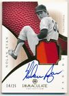 NOLAN RYAN 2012 IMMACULATE COLLECTION ON CARD AUTOGRAPH 3 COLOR PATCH AUTO # 25