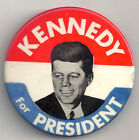 Original 1960 KENNEDY FOR PRESIDENT  2 1/8