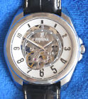 Festina 6744/1 Men's Skeleton Automatic Watch - 3 ATM - Leather Band - Excellent