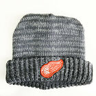 Detroit Red Wings Heather Grey Knitted Hat American Needle Hockey NHL Beanie