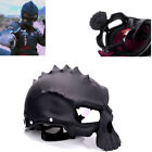 L Size Dual Use Skull Motorcycle Helmet Half Face With Strengthening Lenses