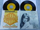 """Donovan  -  Lot Of TWO USA Picture Sleeve PS 7"""" singles"""