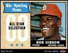 Bob Gibson Cards, Rookie Card and Autographed Memorabilia Guide 5