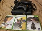 xbox 360 console 24gb 1 controller 3 games with hdmi and original plug