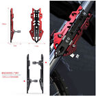 1 Pair Red Aluminum Alloy Motorcycle Front Shock-proof Cover Up