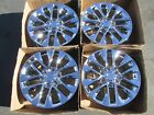 18 lexus gx460 gx470 gx 460 470 wheels rims new chrome set 4 alloys 74297 caps