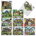 M6644OCB Cottage Life 10 Assorted Blank All Occasion Note Cards With Envelopes