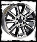 20 inch chrome black 2015 Chevy Silverado 1500 LTZ OE 5696 Tahoe rims 6x55