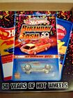 hotwheels 67 camaro 50th birthday bash vip collector event light blue