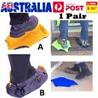 1 Pair Step In Sock Hands Free Shoe Covers Reusable Shoe Boot Cover Automatic MT
