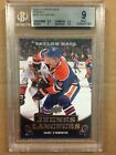2010-11 Upper Deck Hockey Taylor Hall Rookie Young Guns French BGS 9 Mint #219